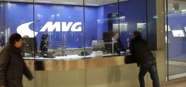 MVG Kundencenter am Hauptbahnhof
