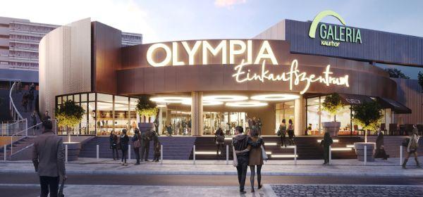 Außenansicht Olympia-Einkaufszentrum