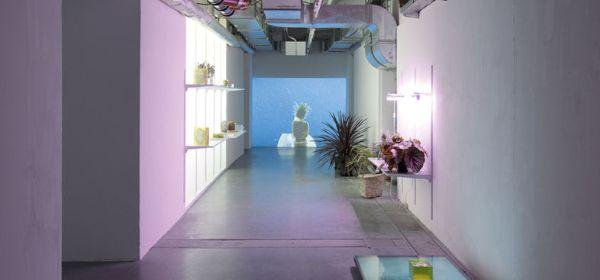 Ausstellungsraum in den Kunstarkaden