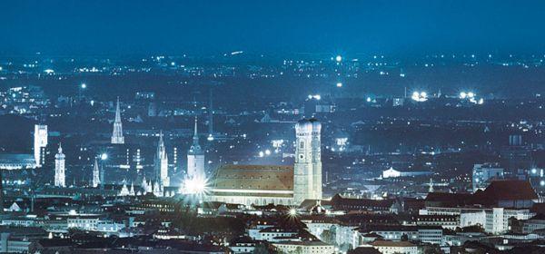 SWM München leuchtet