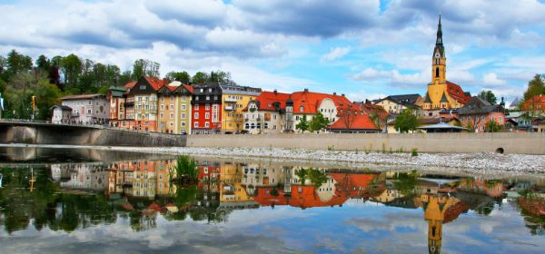 Stadtansicht von Bad Tölz