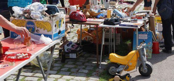 Flohmarkt im Olympiarpark