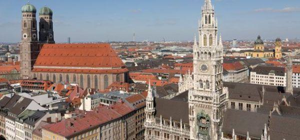 Münchenpanorama Neue Rathaus Frauenkirche