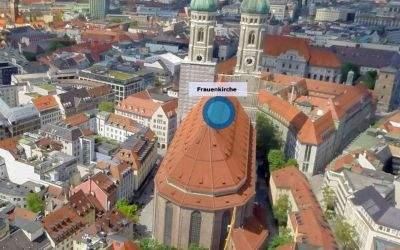 Ausschnitt mit Frauenkirche