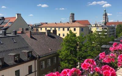 Dachterrasse Deutsche Eiche