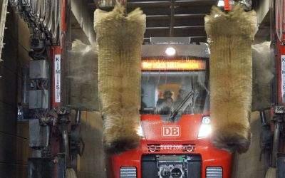 DB-Zugwaschanlage in Laim macht Türen auf am Tag der Deutschen Einheit