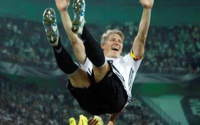 Abschied von Schweinsteiger auf DFB Team