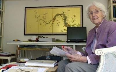 Die langjährige FDP-Politikerin Hildegard Hamm-Brücher auf einem Bild aus dem Jahr 2011