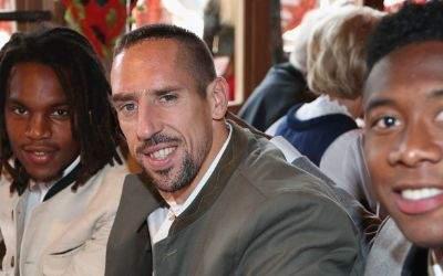 Renato Sanches, Franck Ribéry, David Alaba