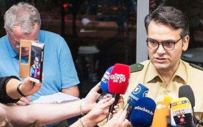 Marcus da Gloria Martins, Pressesprecher der Polizei München