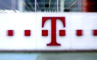 Firmenlogo der Deutschen Telekom.