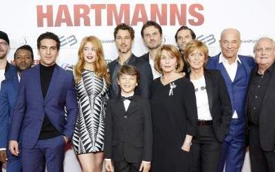"""Impressionen der Premiere """"Willkommen bei den Hartmanns""""."""