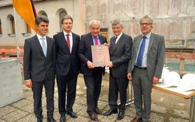 "Grundsteinlegung des ""Philologicums"" an der LMU"