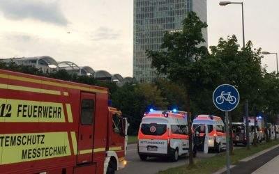OEZ-Vorfall: Feuerwehr und Sanitäter