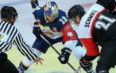 EHC Redbull verliert erstes Champions League Spiel gegen Fribourg