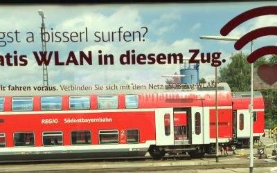 Kostenloses WLAN in Zügen der SOB