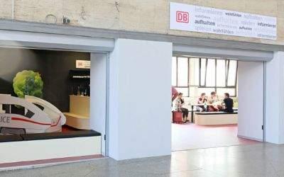 Neuer Warteraum am Münchner Hauptbahnhof