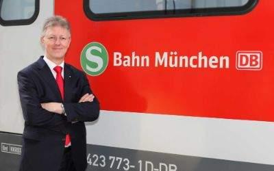 S-Bahn München: Chefwechsel 2017 - der bisherige Chef, Bernhard Weisser (61)