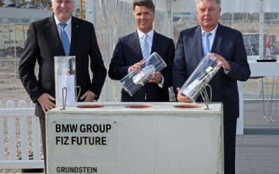 Grundsteinlegung des BMW Forschungs- und Innovationszentrums