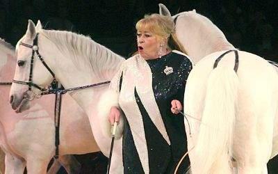 Berühmt für ihre Pferde-Dressuren: Christel Sembach-Krone.