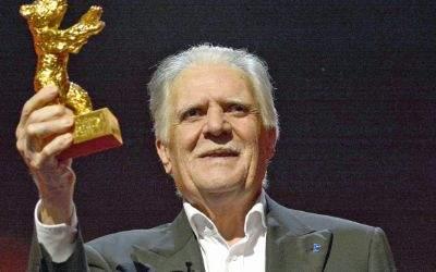 Kamermann Michael Ballhaus mit seinem Ehrenpreis bei der Berlinale 2016