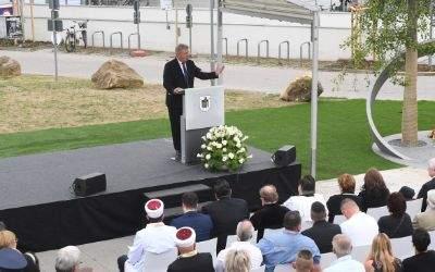 Der Münchner Oberbürgermeister Dieter Reiter spricht am 22.7.2017 in München bei einer Gedenkveranstaltung.