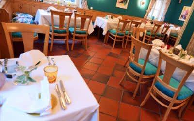 """Innenansicht des Restaurants """"Die Fasanerie"""""""