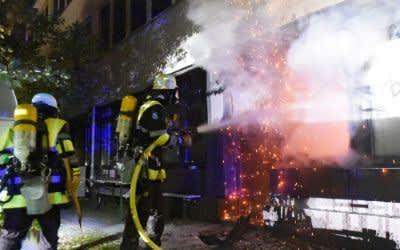 Feuerwehr-Einsatz in Münchner Tagesklinik