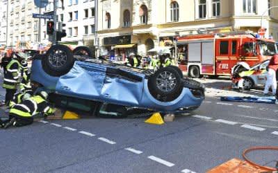 Unfall in der Paul-Heyse-Straße