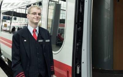 Zugbegleiter Christian Mainka vom DB Fernverkehr München