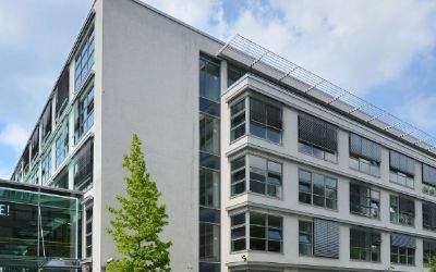 Die Rodenstock-Zentrale in München.