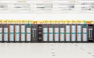 Der SuperMUC-Rechner im Garchinger LRZ