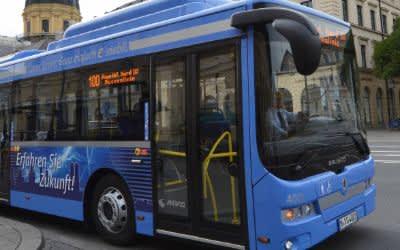 Der neue Elektobus für München