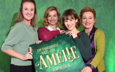 Die fabelhafte Welt der Amélie Cast: : v.l.: Fleur Alders (Georgette), Kira Primke (Gina), Sandra Leitner (Amélie) und Christine Rothacker (Suzanne).
