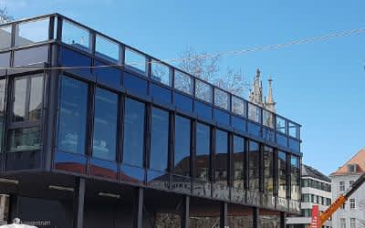 Infozentrum 2. Stammstrecke am Marienhof