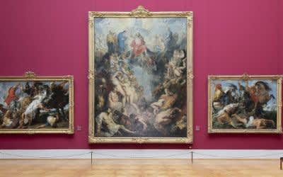 Alte Pinakothek - Rubenssaal in neuem Licht