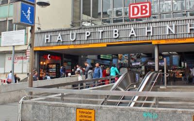 Eingang Hauptbahnhof an der Bayerstraße