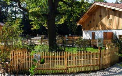 Der Dorfladen im Mühlendorf des Tierparks Hellabrunn