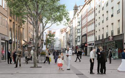 Visualisierung Sendlinger Straße