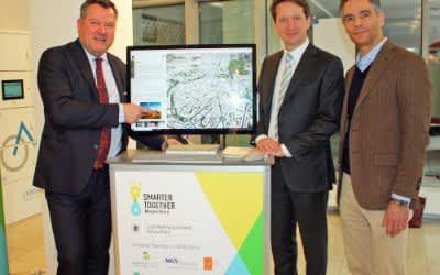 Vorstellung der Smart City-Innovationen 2018