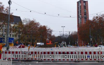 Baustelle Tram Sendlinger Tor