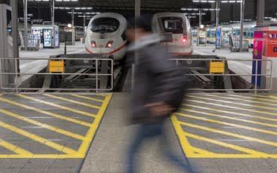 Bahnsteige Hauptbahnhof München