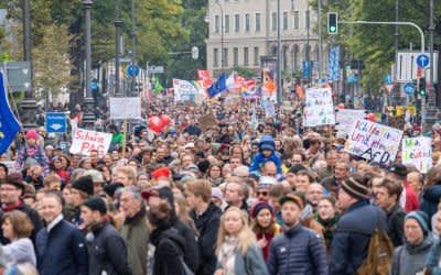 """Demonstration """"Jetzt gilt's"""" in München am 3.10.2018"""