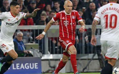 Arjen Robben im Spiel gegen Sevilla.
