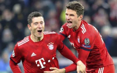 FC Bayern gewinnt gegen Benfica Lissabon