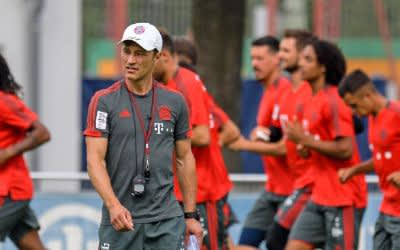 Niko Kovac beim Training mit dem FC Bayern.