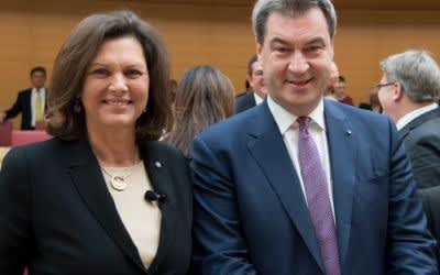 Ilse Aigner und Markus Söder