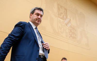 Markus Söder im bayerischen Landtag