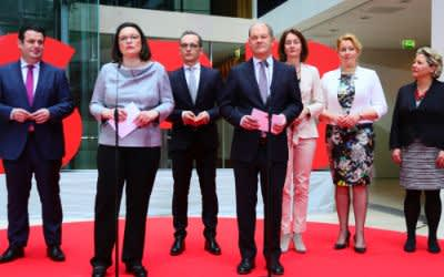 Die Minister der SPD für die große Koalition