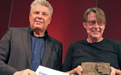 Impressionen von der Verleihung des Dieter-Hildebrandt-Preises